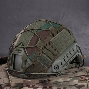 Sport Helmet Cover Airsoft Hunting (Tactical Military Combat) Helmet Cover CS War game For Ops-Core PJ/BJ/MH Type Fast Helmet цена 2017