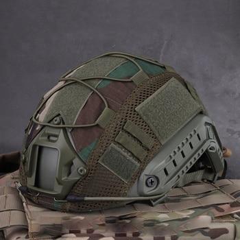 цена на Sport Helmet Cover Airsoft Hunting (Tactical Military Combat) Helmet Cover CS War game For Ops-Core PJ/BJ/MH Type Fast Helmet