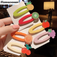 1 PCS  New Sweet Color Cute Girl Many Of Fruit Hair Clip Hairband Hairgrip Barrettes Hairpin Headdress Beauty Accessories