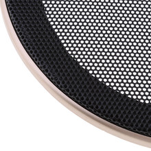 6.5Inch Speaker Grills Cover Case With Screws For Speaker Mounting Audio(China)