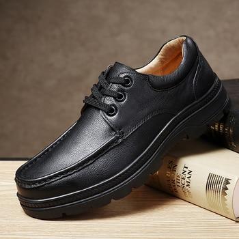 Men genuine Leather Shoes lace up fashion Elegant Wedding Party Casual Mens Dress Shoes Hand-Painted Flats shoes big szie 49