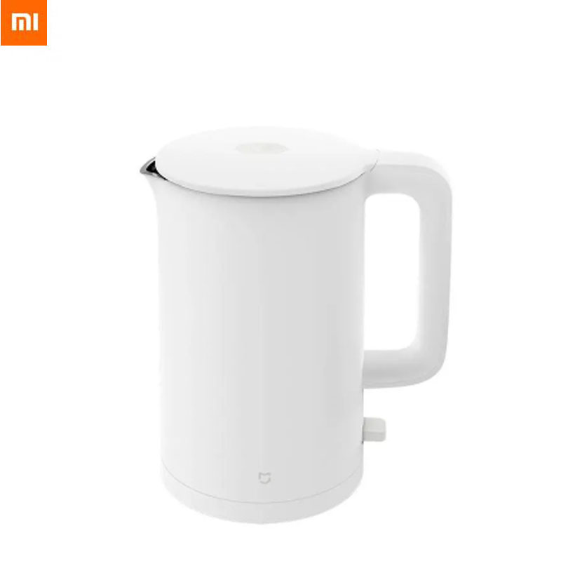New Xiaomi Mijia Electric Kettle 1A Intelligent Temperature Control Stainless Water Kettle Teapot Fast Hot boiling Anti Overheat| |   - AliExpress