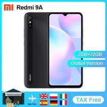 Xiaomi-Teléfono móvil inteligente modelo Redmi 9A versión global, celular Android con 2GB RAM y 32GB ROM, con MTK Helio G25, pantalla de 6.53 pulgadas, cámara de 13MP, Octa Core y batería de 5000Mah
