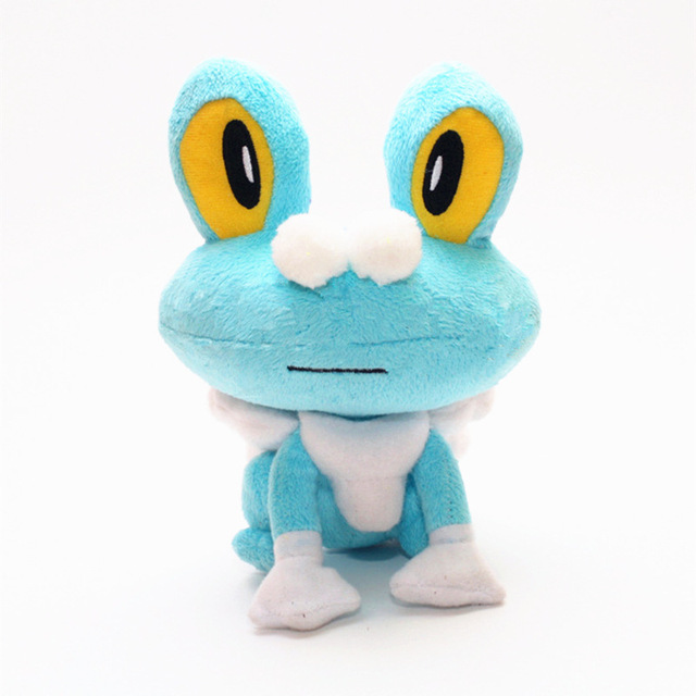 18cm Froakie Frog Mega XY Anime Figure Toy Plush Stuffed Doll Collectible Toy  Gift