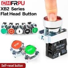1 шт Мгновенный кнопочный переключатель 22 мм кнопка start stop