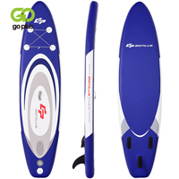 11' Adjustable Inflatable Stand up Paddle SUP Surfboard High Quality Sturdy EVA Drop Stitch Construction Beginner Surfboard