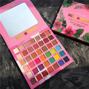 Image 3 - Shimmer Matte 42 Color Eye Shadow Makeup Palette Colorful Neon Eyeshadow Pallete Glitter Metallic Highly Pigmented Bright Shades
