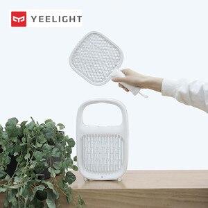 Image 1 - Yeelight חשמלי מחבט יתושים שכבות רשת חשמלי כף יד יתושים רוצח חרקים טוס באג מחבט יתושים רוצח