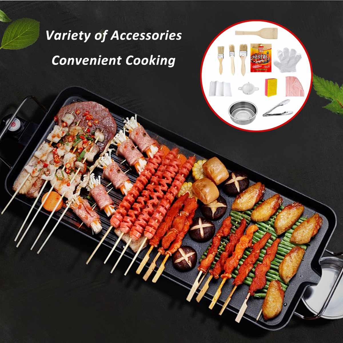 Food - Barbecue Electric Raclette Grill