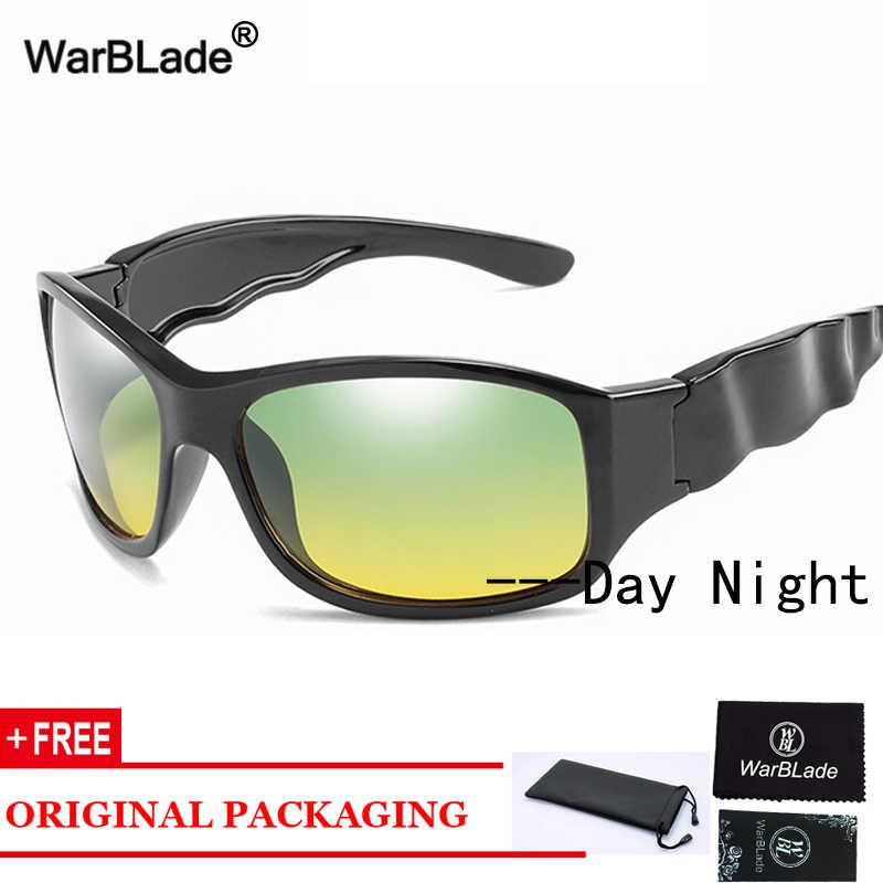 WarBlade 2020 поляризационные фотохромные солнцезащитные очки для мужчин, очки ночного видения, очки для дневного и ночного вождения с антибликовым покрытием, солнцезащитные очки