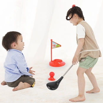 Kid's Golf Toy Set Sports For Kids Learning Active Toys Parent-Child Indoor and Outdoor Toys for Kids Toddlers Boys Girls Child image