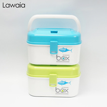 Lawaia fishing Box Waterproof Accessories Road Sub-box Storage Hooks Fish Lines Collection Small Fishing