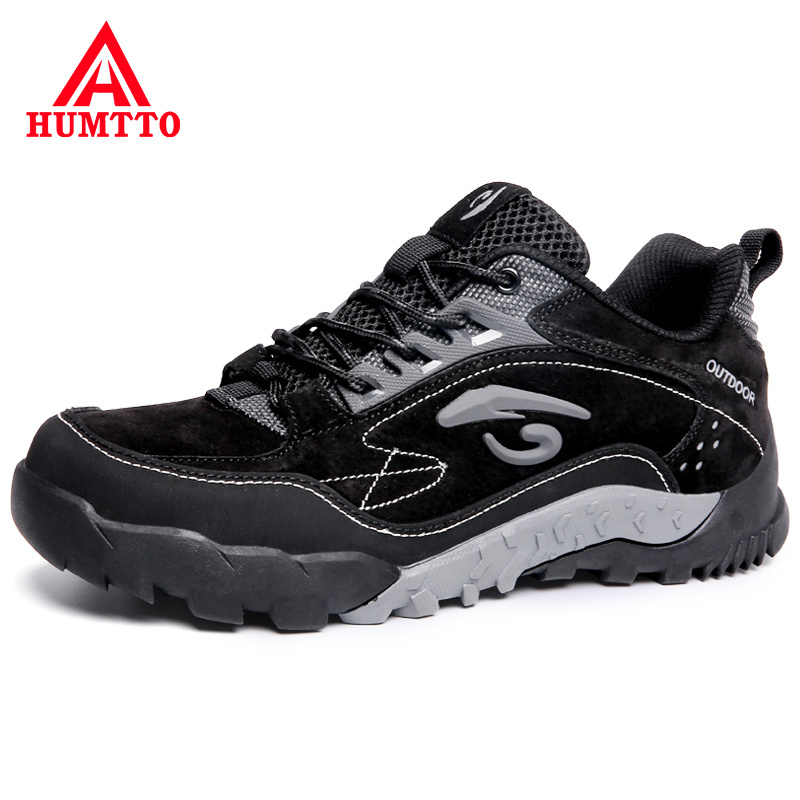 Cheap Winter Lace-up Outdoor Non-slip Work Safety Brand Casual Men's Trainers Shoes Classic Luxury Genuine Leather Fashion Men Shoes