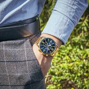 Image 5 - MINI FOCUS Fashion Mens Watches Top Brand Luxury Waterproof Quartz Clock Chronograph Sports Business Watch Men Relogio Masculino