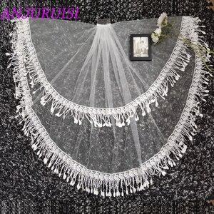 Image 4 - Voile de mariage en dentelle Tulle deux couches