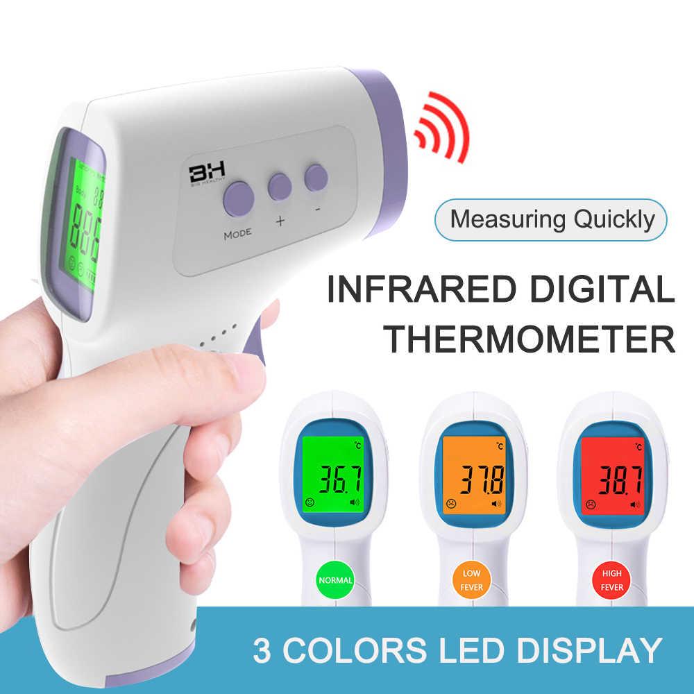 VIP ИК инфракрасный термометр Цифровой Инфракрасный Бесконтактный ИК лазер Termometro Infrarojo термокамера термометр Температурный пистолет