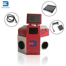 Ювелирный лазерный сварочный аппарат Настольный дизайн с CCD системой
