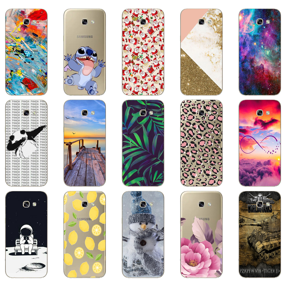 For <font><b>Samsung</b></font> <font><b>A5</b></font> 2017 Case Soft Silicone Phone Case for <font><b>Samsung</b></font> <font><b>Galaxy</b></font> <font><b>A5</b></font> 2017 SM-<font><b>A520F</b></font> Cover Fundas for <font><b>Samsung</b></font> <font><b>Galaxy</b></font> <font><b>A5</b></font> 2017 image