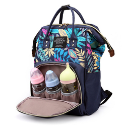 QWZ New Fashion Maternity Large Diaper bag For Baby Large Capacity Nappy Bag Travel Mommy Bag For Baby Care Backpack For Mom