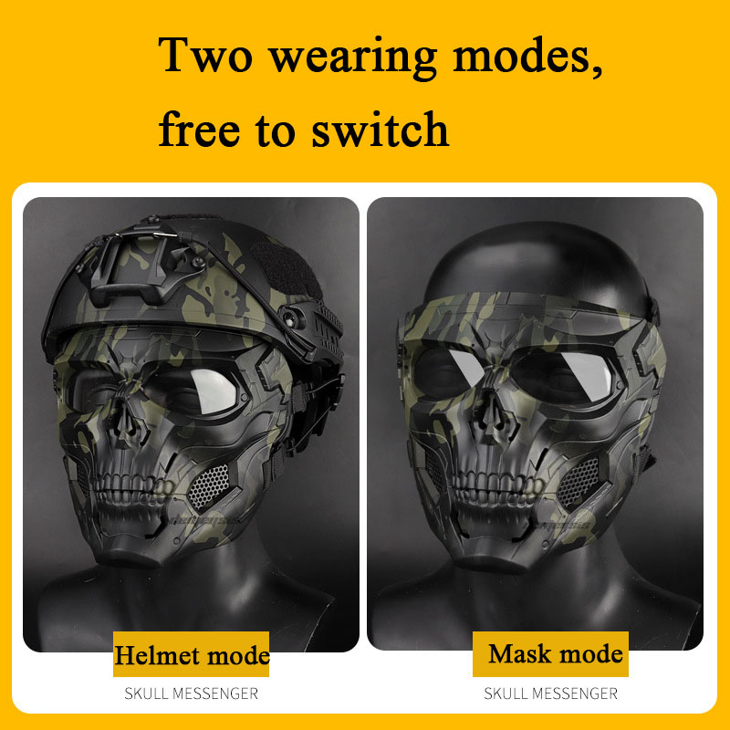 Tactical Paintball Skull Masks Outdoor Breathable Hunting Shooting Skull Mask Military Full Face Safety Airsoft Paintball Masks Ziloqa Makeup Healthcare Products Surgicalmask Pm2 5mask Kn95mask Facemask Pm2 5filters Maskgaskets Maskpads