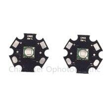 1 шт. 10 Вт XML T6 высокомощный светодиодный излучатель ярко-синий 445нм-455нм на 16 мм 20 мм алюминиевой печатной платы