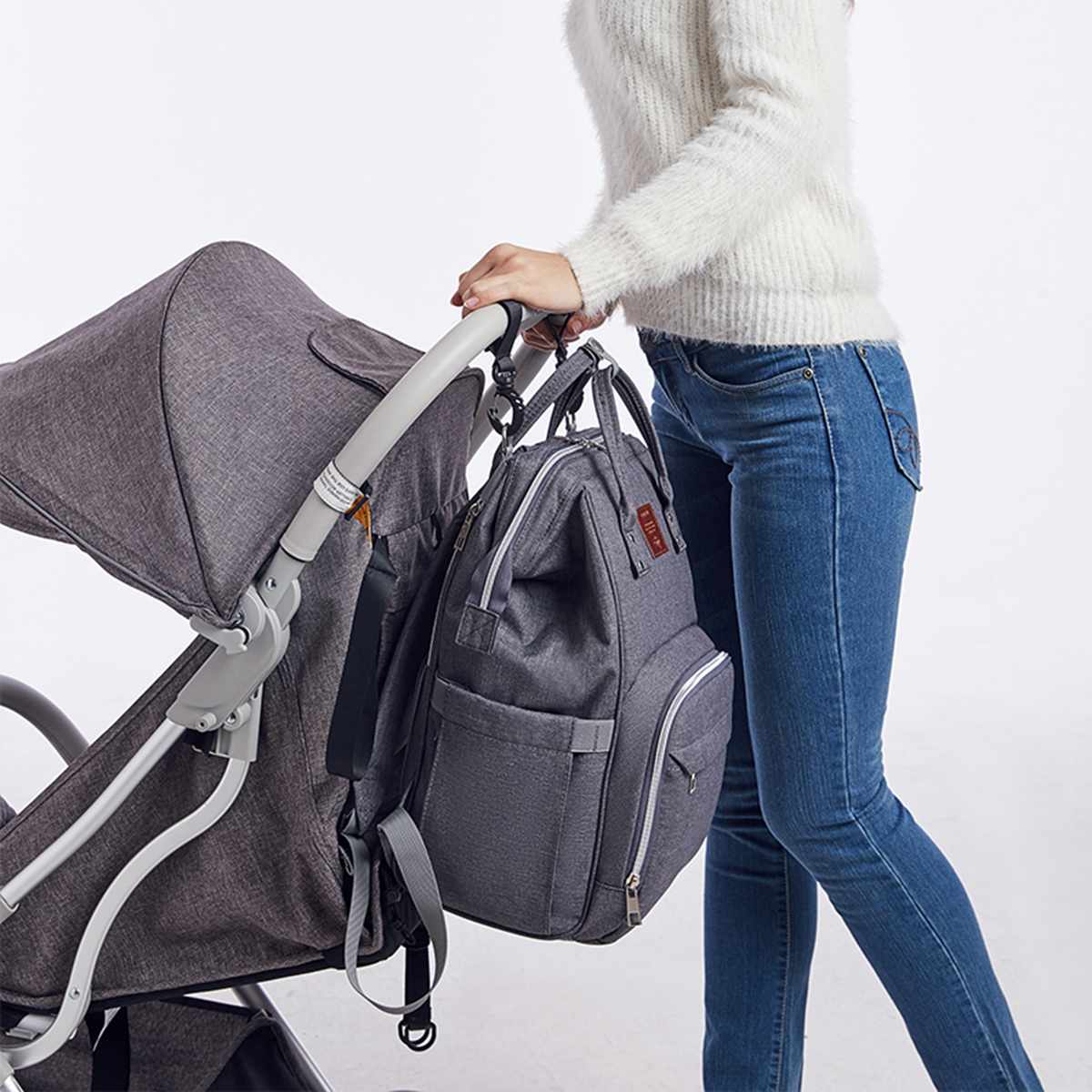 Multifunction Baby Bag Widened Shoulder Strap Large Capacity Maternity Bags Waterproof Travel Women Fashion Diaper Bag Backpack