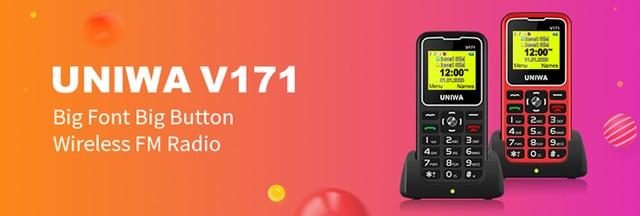 Мини мобильный телефон uniwa l8star bm70 беспроводные bluetooth
