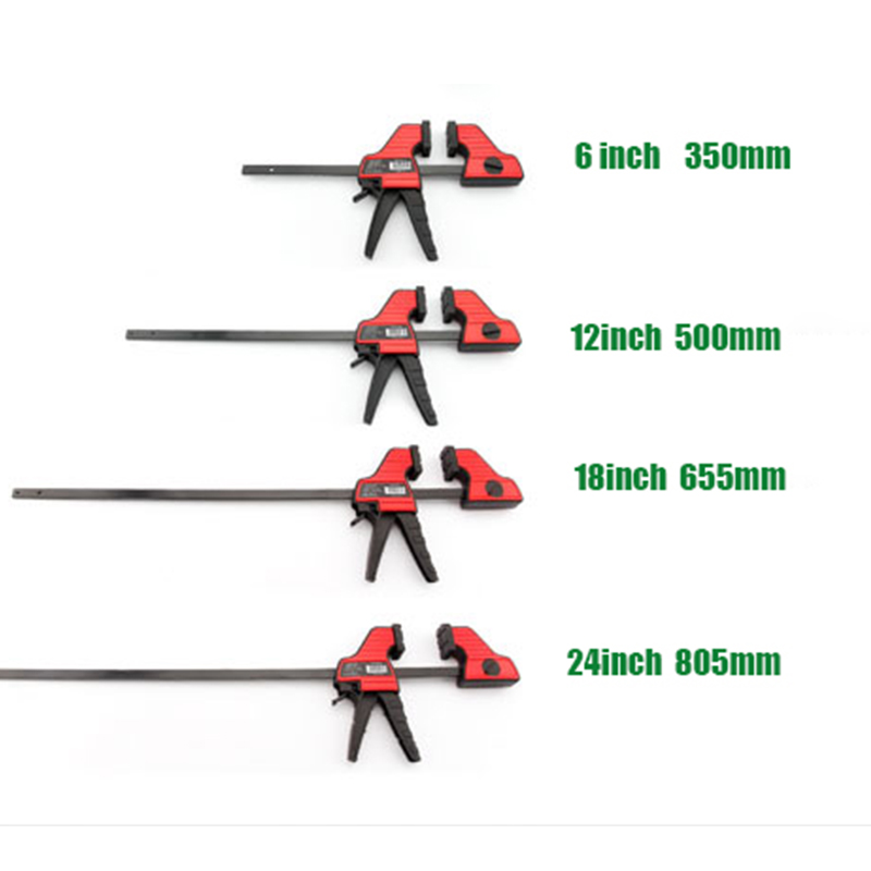 Duratec Heavy Duty F Clamp measurement