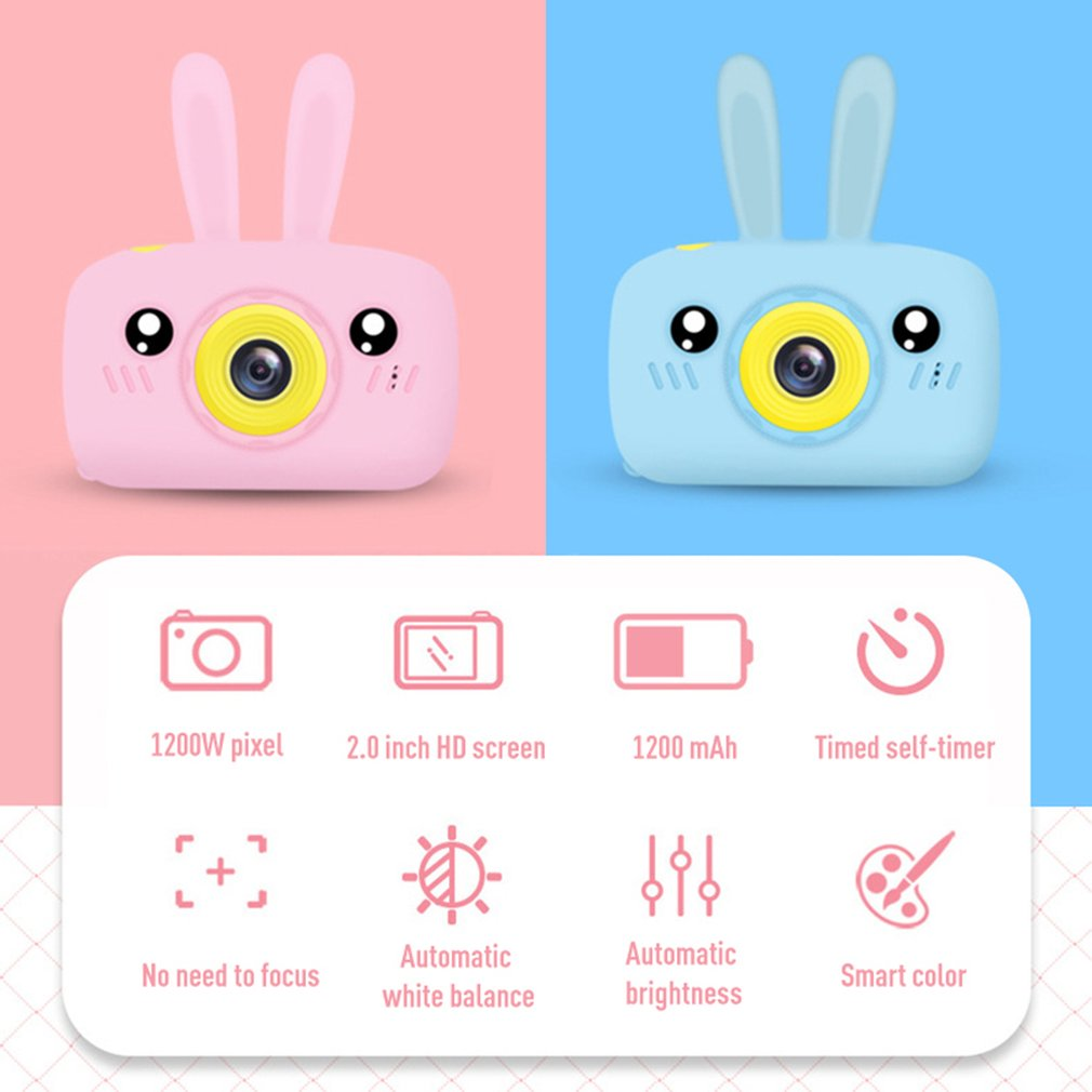 Baby Creative Cartoon Mini Toy Can Take Pictures Of Children'S Digital Camera Cartoon Mini Funny Toy Professional Fashion X9
