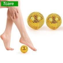 Tcare 1 Paar Unisex Druck Relief Yoga Fitness Ball Magnetische Therapie Massager Magnet Hand Akupunktur Akupunkturpunkt Nadel Massage