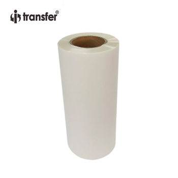 Roll PET Film 30cmx100m Direct Transfer Printing Paper T shirts Fabric DTF Printer Heat Transfer Roll Films 1