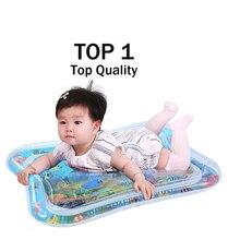 Для малышей и детей постарше воды игровой коврик игрушки надувные Сгущает ПВХ младенческой развивающий коврик для игр активности малыша игровой центр водный коврик для младенцев