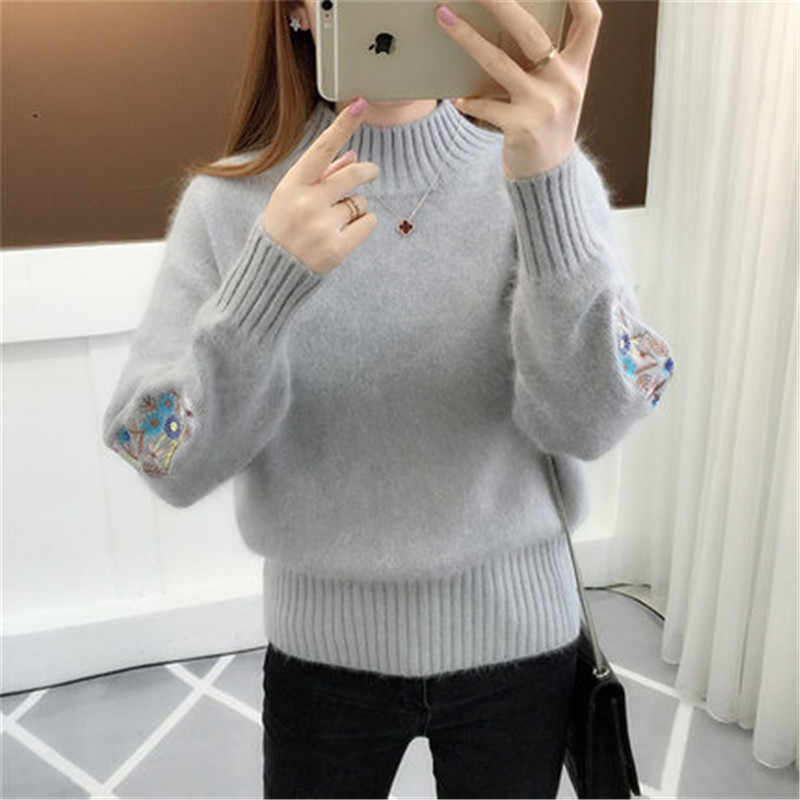 Womens Sweaters and Pullovers New Fashion Popular Clothes Female Spring Clothing Autumn Warm Sweater Pullover LWL204