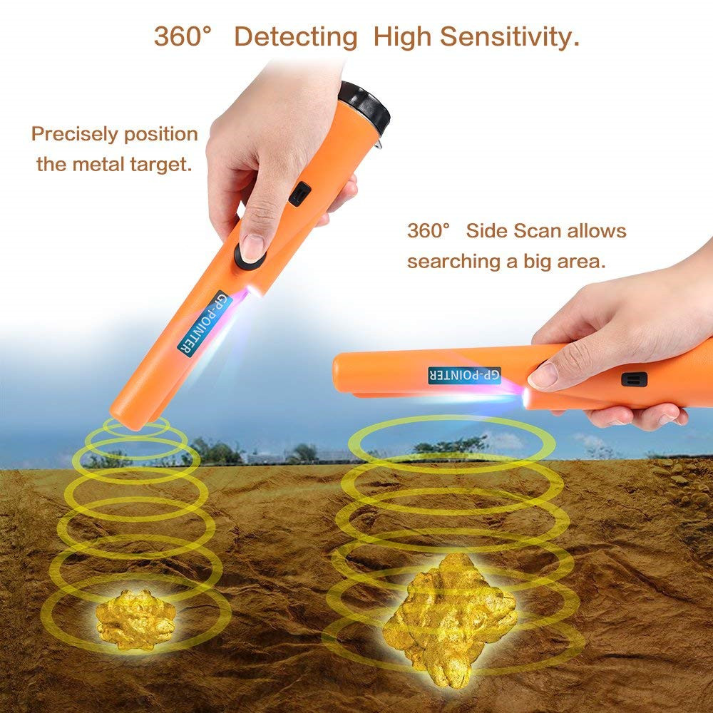 Underground Metal Detector Gold Coin Pinpointing Treasure Scanner Digger Kit Finder Search Hunter  locator GP pointer Pinpointer
