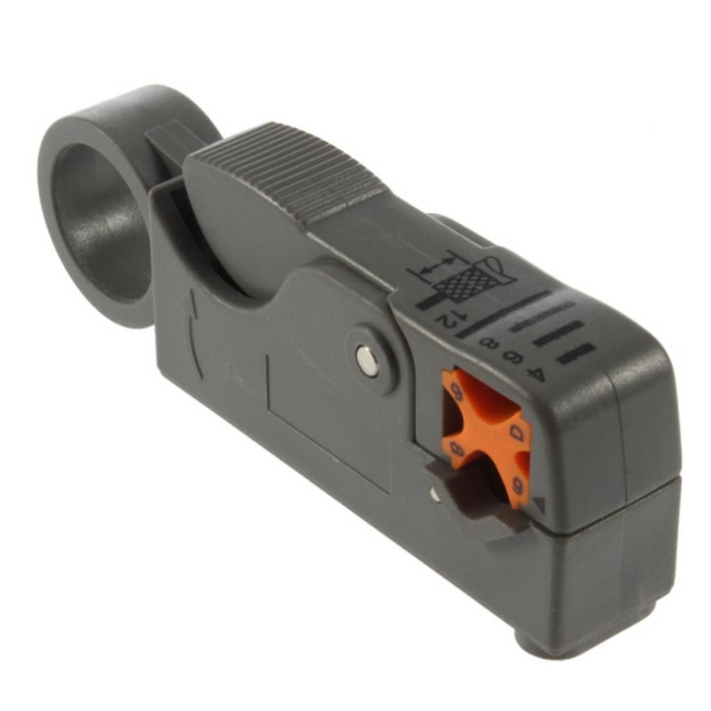 2019 nouvel outil ménager multifonction rotatif Coaxial Coaxial câble Cutter outil RG58 RG59 RG6 haute Impact matériel dénudeur de fil