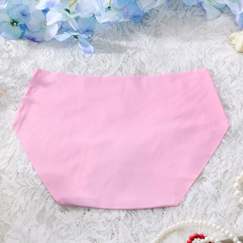 Women's Low Waist Sexy Seamless Breathable Panties 22