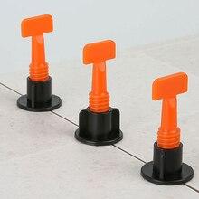Level-Wedges Spacer Carrelage-Tile Plier Locator Flooring for 50pcs/Set