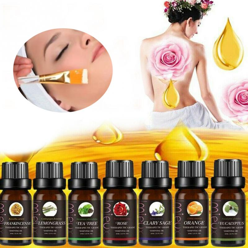 10ml Aromatherapy Essential Oils Natural Pure Organic Essential Oil Fragrances Spa Relax Massage Essential Oil Sleeping Aid