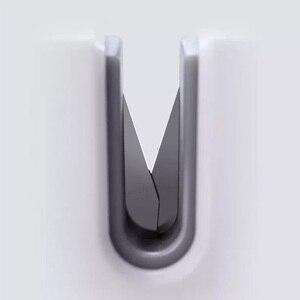 Image 3 - Huohou mini apontador de faca de uma mão afiar super sucção cozinha ferramenta apontador