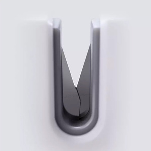 Image 3 - Huohouミニナイフシャープナー片手シャープスーパー吸引キッチン削りツール
