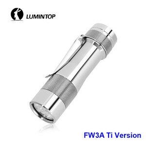 Image 3 - LuminTop FW3A 3 قطعة كري XPL مرحبا المصابيح الذيل الإلكترونية التبديل التكتيكية ستروب ضوء الشموع LED مصباح شعلة أوصى 18650 بطارية