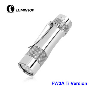 Image 3 - LuminTop FW3A 3PCS Cree XPL HI LEDs Electronic Tail Switch Tactical Strobe Candlelight LED Torch Light Recommended 18650 Battery