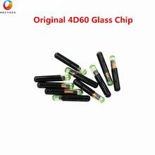 Alta qualidade 4d60 t32 original chip de vidro id 4d60 transponder para ford conectar fiesta ka para mondeo carro em branco chave chip