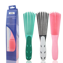 Hair Styling Comb Hair Brush Scalp Massage Curl Comb Women Detangle Hairbrush Health