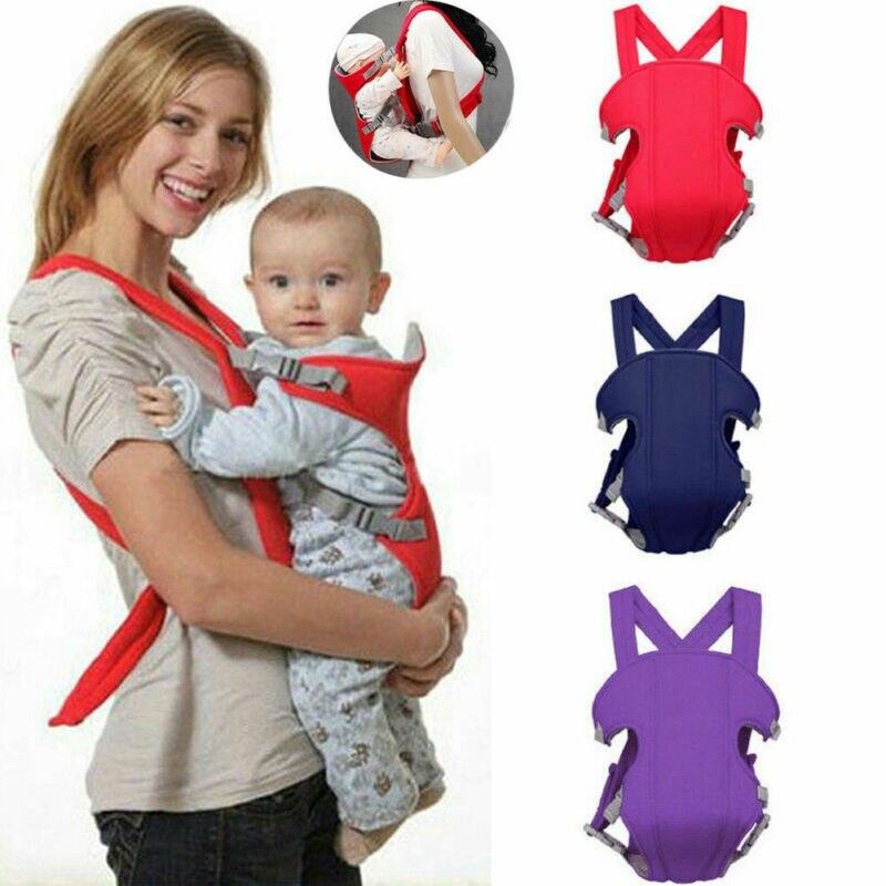 Infant Baby 3 In 1 Front Carrier Newborn Toddler Breathable Ergonomic Adjustable Wrap Sling Backpack
