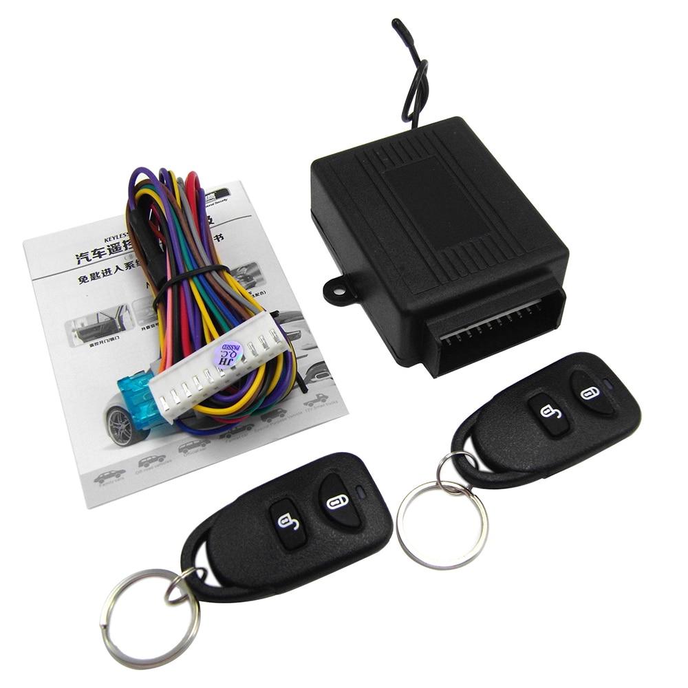 8114 автомобильный пульт дистанционного управления Центральный замок сигнализация устройство с системой двигателя Охранная сигнализация      АлиЭкспресс