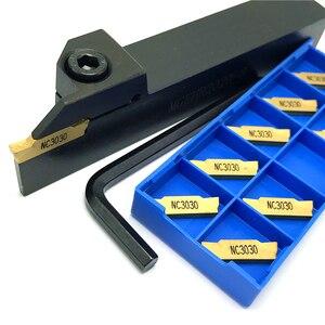 Grooving Tool Holder MGEHR1010 MGEHR1212 MGEHR1616 MGEHR2020 MGEHR2525 carbide Grooving inserts MGMN150 MGMN200 MGMN300 MGMN400