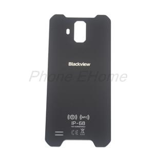Image 4 - ต้นฉบับ blackview bv9600 แบตเตอรี่กรณีฝาครอบกระจกด้านหลังสำหรับ blackview bv9600 pro โทรศัพท์มือถือ