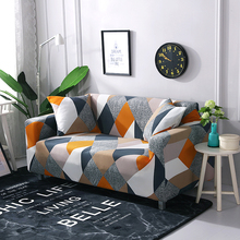 Elastic Stretch Sofa Cover for Living Room Universal Chair Slipcovers Sectional Couch Cover L shape Armchair Cover 1/2/3/4 Seat