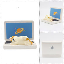 Soporte de teléfono para gatos y comestibles japoneses, soporte de IPA, Marco para gafas, regalo, soporte perezoso, adornos pequeños para decoración del hogar